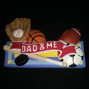 """Avon Father's Day Photo Holder """"Dad and Me"""""""